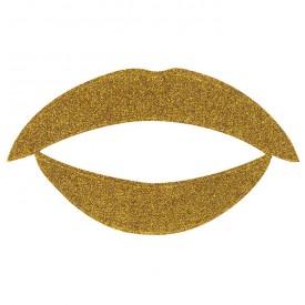 Lip Tattoo Золотой блеск