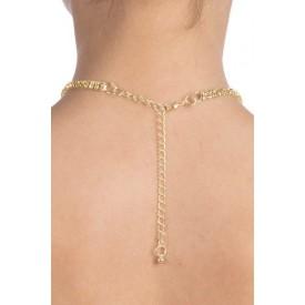 Золотистая цепочка на шею AUDREY