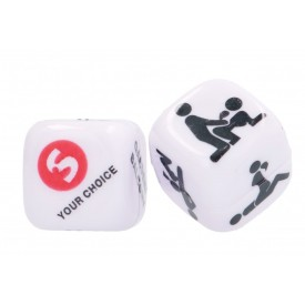 Игральные кубики Take the Gamble Sex