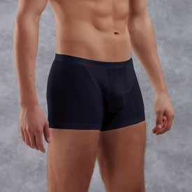 Боксеры из полупрозрачной хлопково-модальной ткани