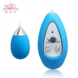 Голубое виброяичко Xtreme 10F Egg